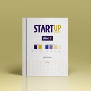 logo style guidelines for brand Start-Up