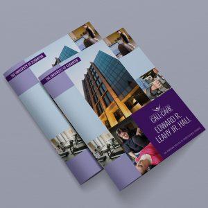 educational facility brochure for the University of Scranton
