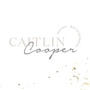 logo design for Caitlin Cooper Dating and Relationship Consultant brand